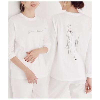 ROPE' / ロペ 【ROPE' × Miyuki Ohashi(大橋美由紀)】コラボレーションロングTシャツ