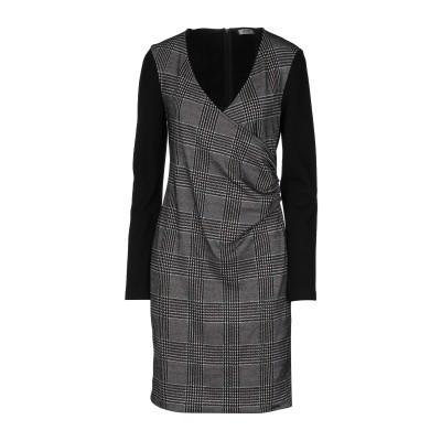 リュー ジョー LIU •JO ミニワンピース&ドレス ブラック 42 ポリエステル 83% / レーヨン 14% / ポリウレタン 3% / ナイ