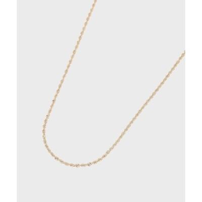 COCOSHNIK(ココシュニック)中空ロープ ネックレス