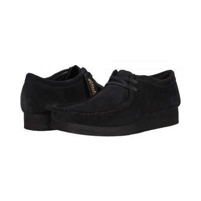Clarks クラークス メンズ 男性用 シューズ 靴 ブーツ チャッカブーツ Wallabee 2 - Black Suede