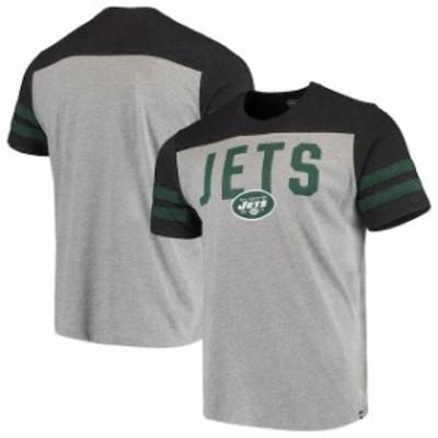 47 フォーティーセブン スポーツ用品  47 New York Jets Heathered Gray/Heathered Green Versus Club T-Shirt