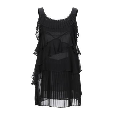 ANNA RACHELE ミニワンピース&ドレス ブラック 42 ポリエステル 100% ミニワンピース&ドレス