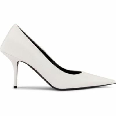 バレンシアガ Balenciaga レディース パンプス シューズ・靴 square knife pumps White