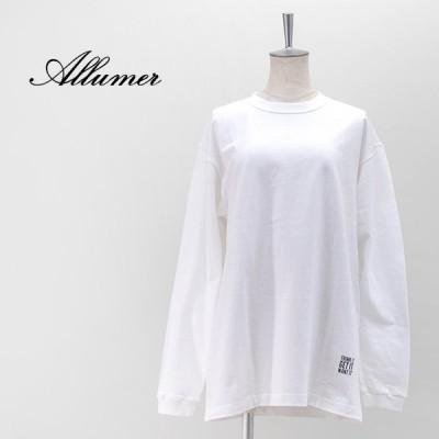 allumer アリュメール レディース プリントTシャツ(Paint)(8146403)(2021SS)
