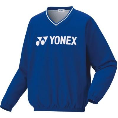 ヨネックス ユニセックス 裏地付ブレーカー(ブラストブルー・サイズ:M) YONEX YO-32028-786-M 返品種別A