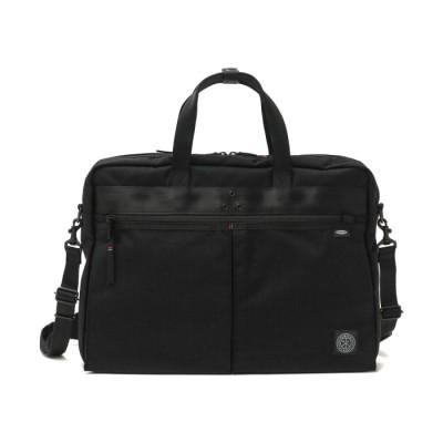 【ギャレリア】 ポータークラシック ビジネスバッグ Porter Classic × muatsu ムアツ NEWTON BRIFECASE B4 PC-050-1416 ユニセックス ブラック F GALLERIA
