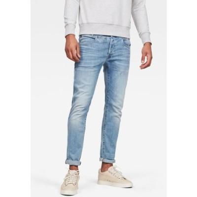 ジースター メンズ ファッション D-STAQ 5-PKT SLIM - Slim fit jeans - blue