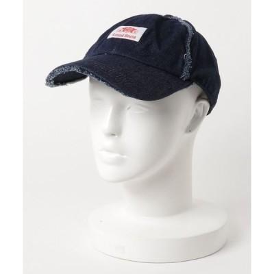 帽子 キャップ ROUND HOUSE RH DAMAGE DENIM BB CAP