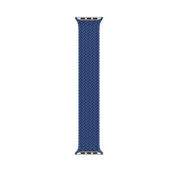 44 公釐大西洋藍色編織單圈錶環 - 8 號