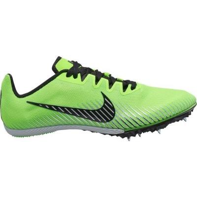 ナイキ シューズ メンズ 陸上 Nike Zoom Rival M 9 Track and Field Shoes Green/Black