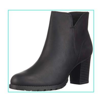 【新品】Clarks Women's Verona Trish Fashion Boot, Black Leather, 095 M US(並行輸入品)