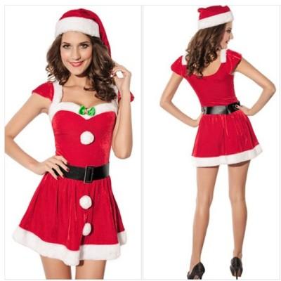 サンタコス 新作 クリスマス衣装 女性 聖夜パーティー レディース  コスチューム サンタクロース衣装 仮装変装 パーティー イベント 格安