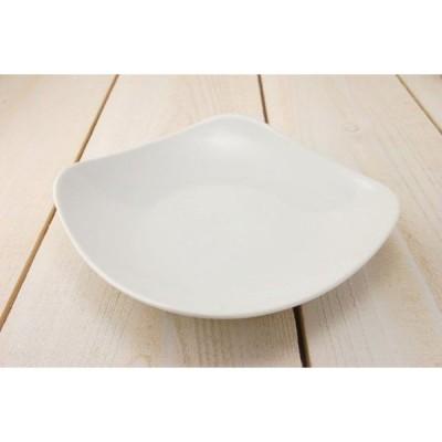 美濃焼 スクエア20cm深皿 ホワイト  日本製