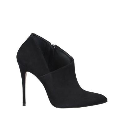 VICENZA) ショートブーツ ファッション  レディースファッション  レディースシューズ  ブーツ  その他ブーツ ブラック