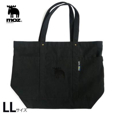 モズ moz 帆布トートバッグ LL bk ブラック | スウェーデンブランド 北欧 おしゃれ かわいい 可愛い バッグ トートバッグ
