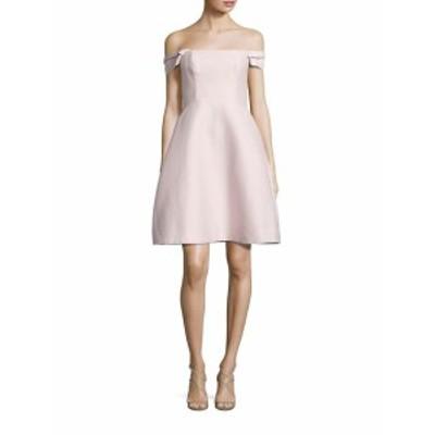 ハルストンヘリテージ レディース ワンピース Off-The-Shoulder Faille Dress
