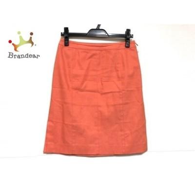 ハロッズ HARRODS スカート サイズ2 M レディース オレンジ     スペシャル特価 20200901