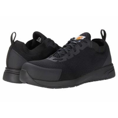 カーハート メンズ スニーカー シューズ Force Nano Composite Toe SD Work Shoe Black Mesh/Synthetic