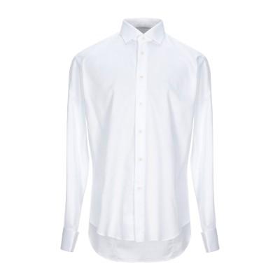 ブライアン デールズ BRIAN DALES シャツ ホワイト 44 コットン 100% シャツ