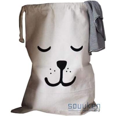 収納バッグ 折りたたみ 巾着 ストレージバッグ 引きひも袋 ランドリーバスケット ランドリー収納 服収納袋 玩具収納袋 洗濯かご おもちゃ