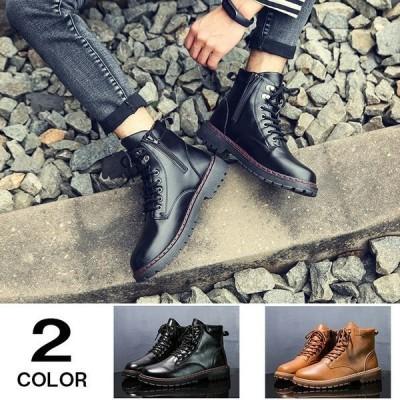 メンズブーツショートブーツワークブーツマウンテンブーツブーツメンズミリタリーブーツ冬靴靴防寒