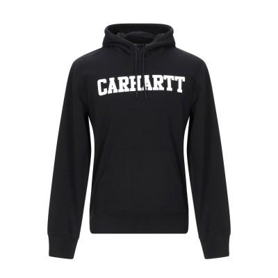 カーハート CARHARTT スウェットシャツ ブラック L 100% コットン スウェットシャツ
