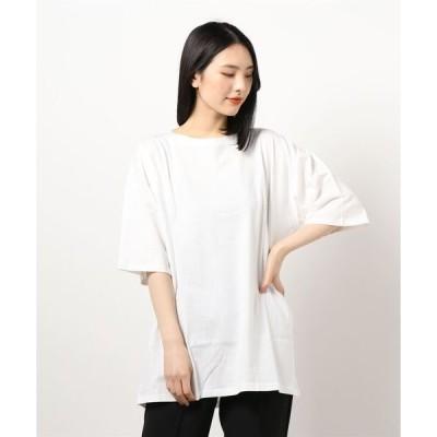 tシャツ Tシャツ USAコットンバックフォトプリントTシャツ