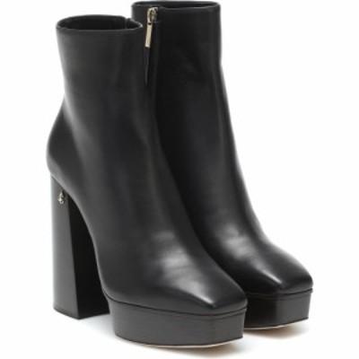 ジミー チュウ Jimmy Choo レディース ブーツ ショートブーツ シューズ・靴 bryn leather ankle boots Black