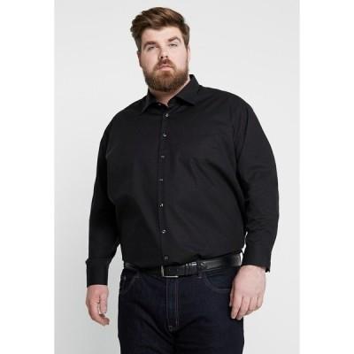 サイデンステッカー シャツ メンズ トップス MODERN FIT KENT - Shirt - black