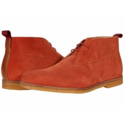 Ted Baker テッドベイカー メンズ 男性用 シューズ 靴 ブーツ チャッカブーツ Appell Burnt Red【送料無料】