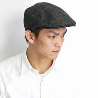 STETSON ウール ハンチング メンズ チェック柄 秋冬 ステットソン 帽子 USA インポート ブランド