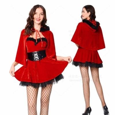 サンタコスプレ雪だるま サンタ コスプレ サンタコス 衣装 クリスマス コスチューム セクシー サンタクロース サンタ衣装 サンタコスチューム  仮装 女性mte6066