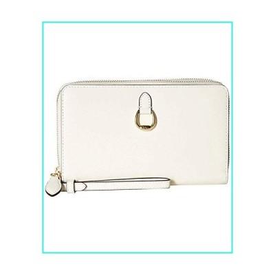 【新品】Lauren Ralph Lauren Bennington Double Zip Wristlet Vanilla/Gold(並行輸入品)