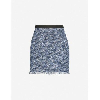 クローディ ピエルロ CLAUDIE PIERLOT レディース ミニスカート スカート Seasone tweed mini skirt MULTICO