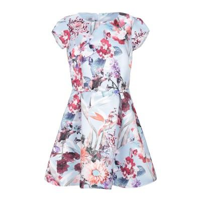 KATE BY LALTRAMODA ミニワンピース&ドレス ライラック L ポリエステル 100% ミニワンピース&ドレス