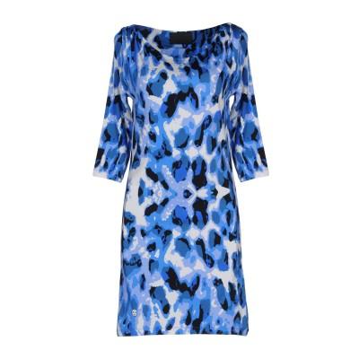 PHILIPP PLEIN ミニワンピース&ドレス アジュールブルー M レーヨン 92% / ポリウレタン 8% ミニワンピース&ドレス