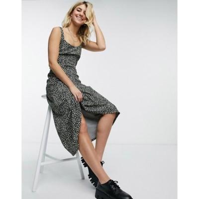 フリーピープル レディース ワンピース トップス Free People Lorelai printed dress in black
