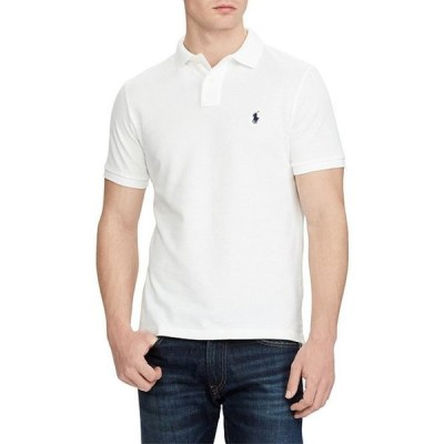ラルフローレン メンズ シャツ トップス Custom-Slim Fit Solid Mesh Polo Shirt