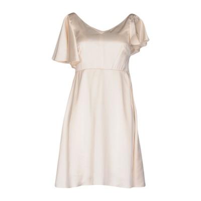 SAINT LAURENT ミニワンピース&ドレス アイボリー 36 100% シルク ミニワンピース&ドレス