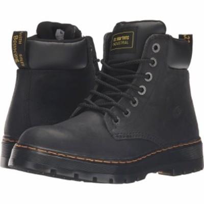 ドクターマーチン Dr. Martens Work メンズ ブーツ シューズ・靴 Winch Service 7-Eye Boot Black Wyoming