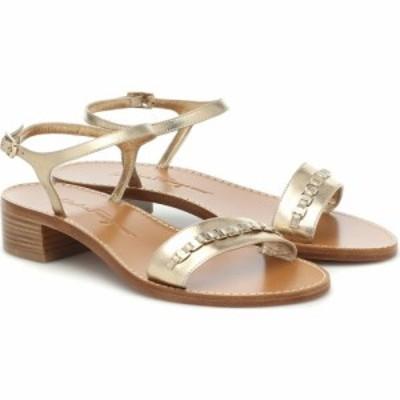 サルヴァトーレ フェラガモ Salvatore Ferragamo レディース サンダル・ミュール シューズ・靴 Tremiti Leather Sandals