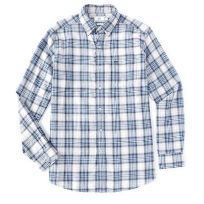 サウザーンタイド メンズ シャツ トップス Chambray Reversible Long-Sleeve Woven Shirt