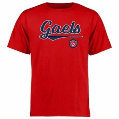 Fanatics Branded ファナティクス ブランド スポーツ用品  Saint Marys Gaels Red American Classic T-Shirt