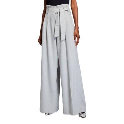 ラファイエットワンフォーエイト レディース カジュアルパンツ ボトムス Tillary Italian Superlative Melange Wool Wide-Leg Pants