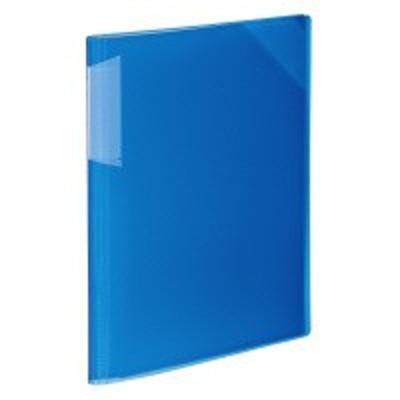 ☆ポイント5倍☆コクヨ (フ-N5710B-12) クリヤーホルダーブック<ノビータ> (固定式)A4 青 12枚ポケット