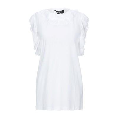 ディースクエアード DSQUARED2 T シャツ ホワイト XS コットン 70% / ナイロン 30% T シャツ