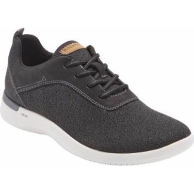 ロックポート メンズ スニーカー シューズ Truflex Fly Plain Toe Sneaker Black Textile