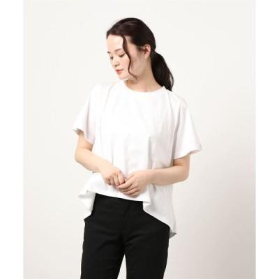 tシャツ Tシャツ mizuiro ind クルーネックフレアT