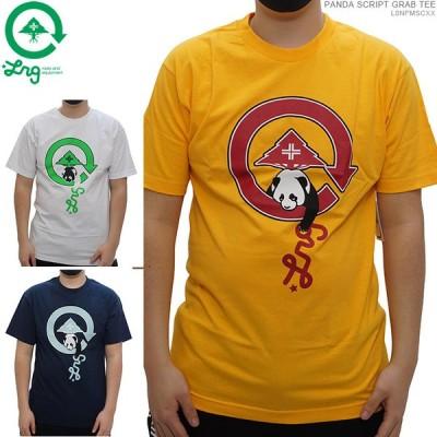 40%OFF セール LRG Tシャツ エルアールジー 半袖Tシャツ PANDA SCRIPT GRAB TEE