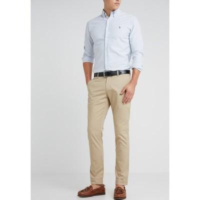 ラルフローレン カジュアルパンツ メンズ ボトムス STRETCH SLIM FIT COTTON CHINO - Trousers - classic khaki